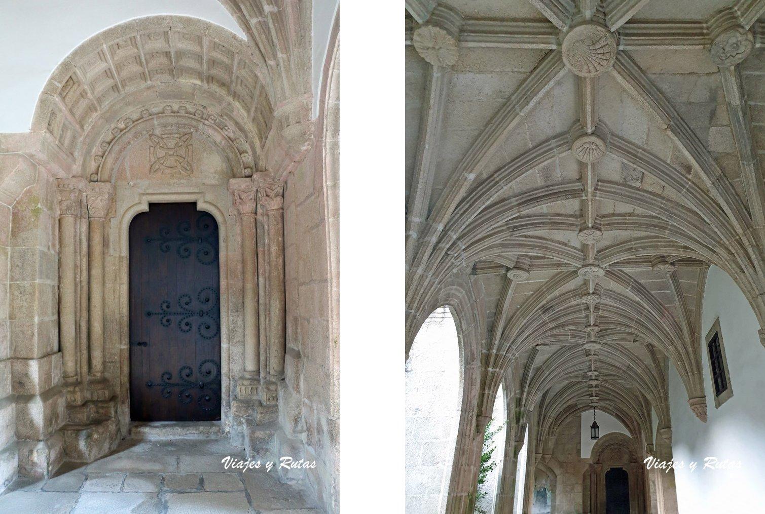 Portada románica de Samos