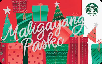 Maligayang Pasko Starbucks Card (Paper)