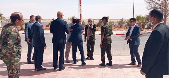 Brahim Ghali llega a los campamentos de refugiados saharauis tras 5 meses ingresado en el hospital.