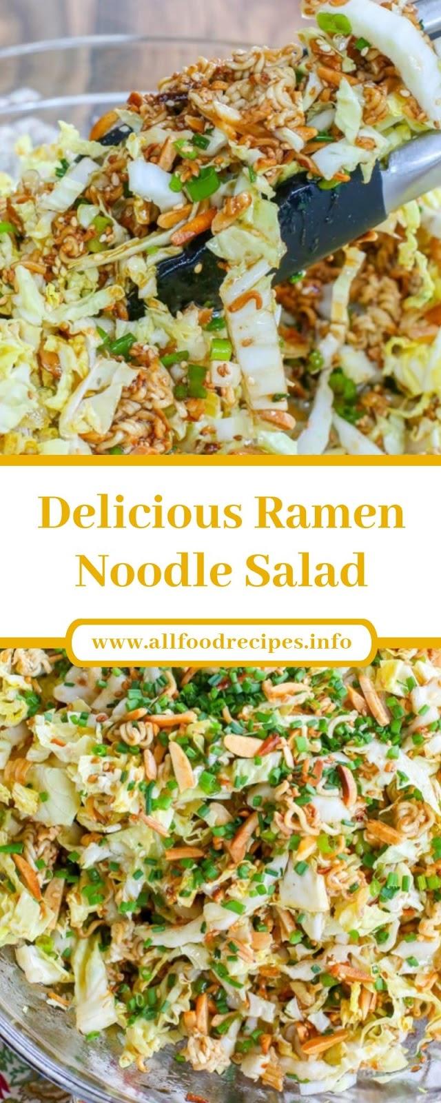 Delicious Ramen Noodle Salad