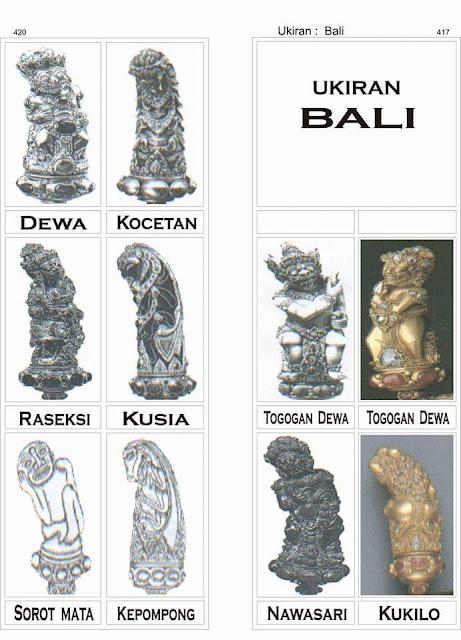 Deder Keris Bali
