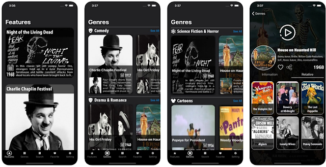 تحميل تطبيق Classic Movies - Public Movies