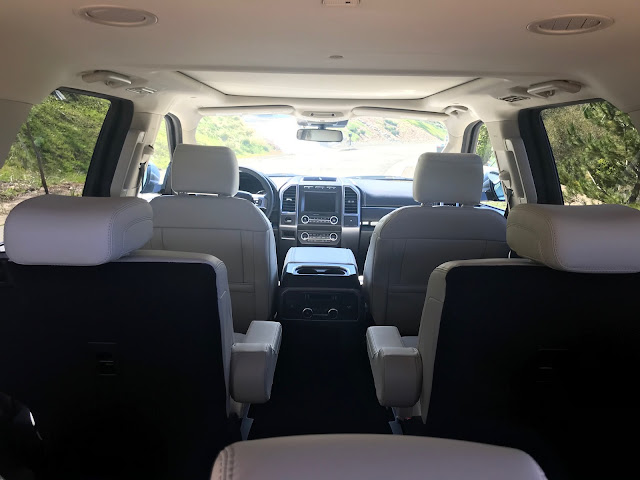 Interior view of 2020 Ford Expedition Platinum