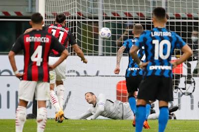 ملخص واهداف مباراة ميلان وانتر (2-1) الدوري الايطالي