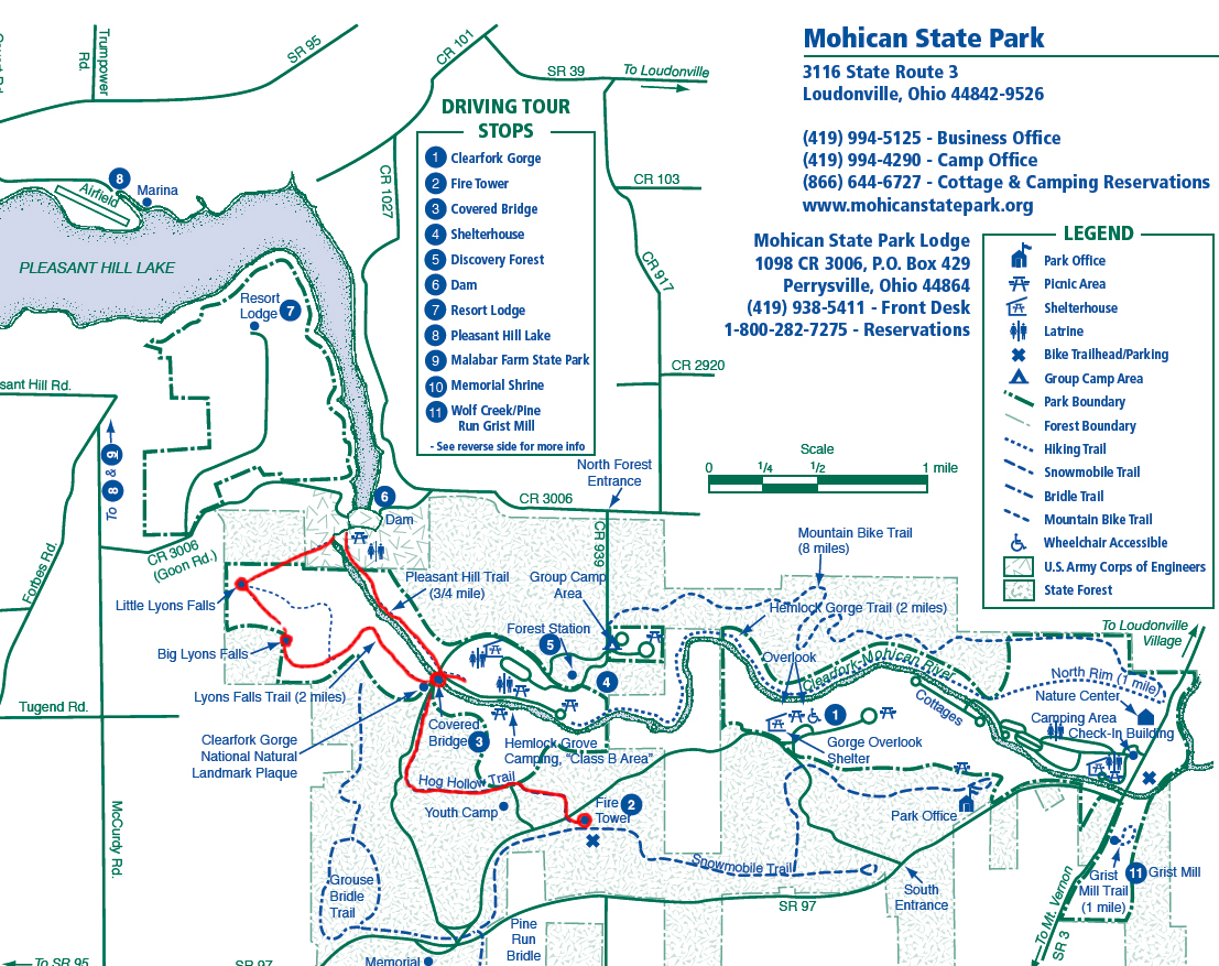 Mohican State Park Map Mish Lish's Adventures: Mohican State Park Trail Run Mohican State Park Map