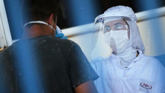 trt frigorifico indenizar trabalhadora infectada covid