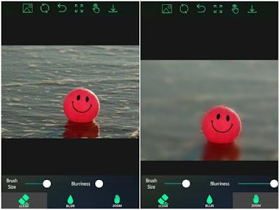 Aplikasi Edit Foto Bokeh