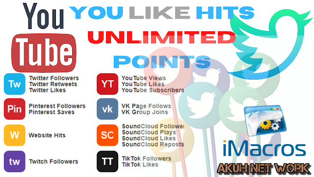 YouLikeHits Unlimited Points, Imacros Script Update May