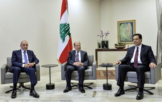 Setelah Ledakan Bom, Para Menteri Mundur, PM Lebanon Hassan Diab Bubarkan Kabinet Pemerintahan