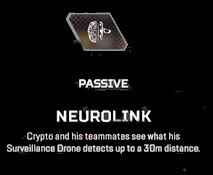 Neurolink Apex legends Crypto passive abilities