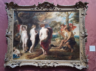 El Juicio de París, obra de Rubens, se exhibe también en la National gallery de Londres.