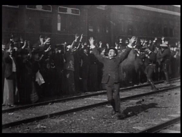 El gran robo del Tren | La primera película que contó una historia
