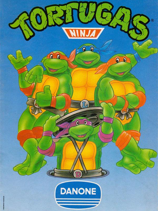 Album cromos Danone Tortugas Ninja