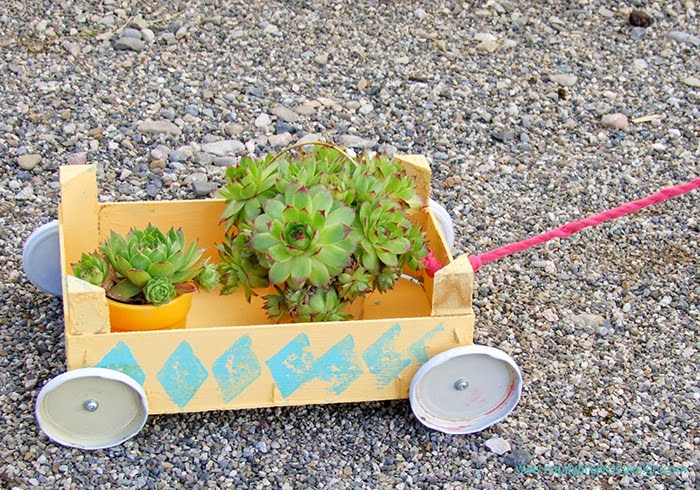 DIY: carrito de juguete
