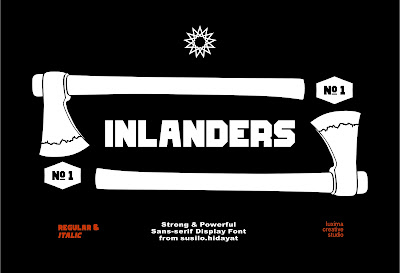 Free Font: Inlanders Remake Version