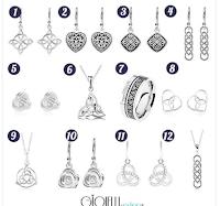 Logo Vinci gratis orecchini in argento 925 modello mistico Nodo Celtico