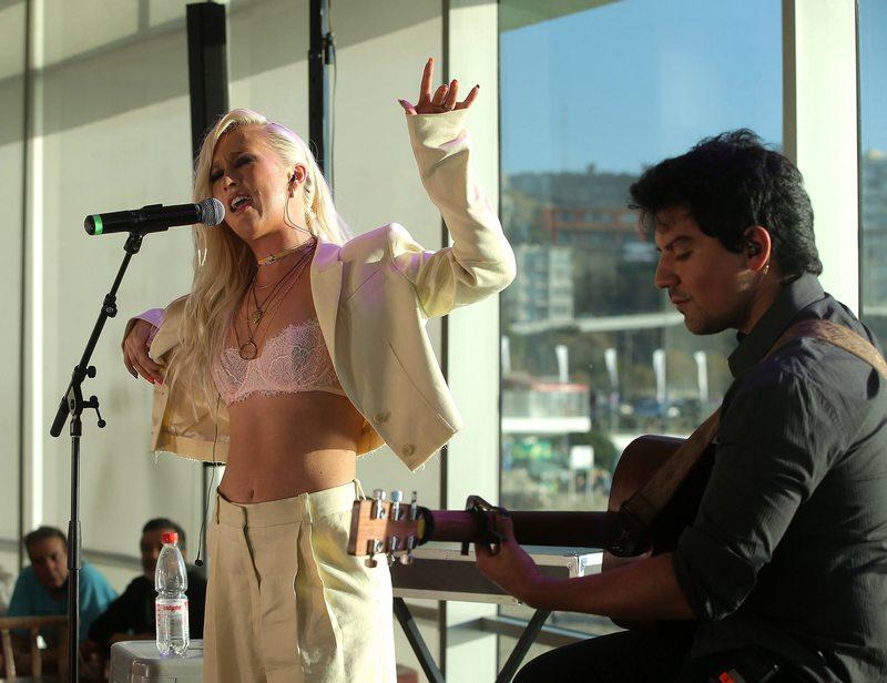Vesta Lugg aprovechó el Festival para debutar en el trap
