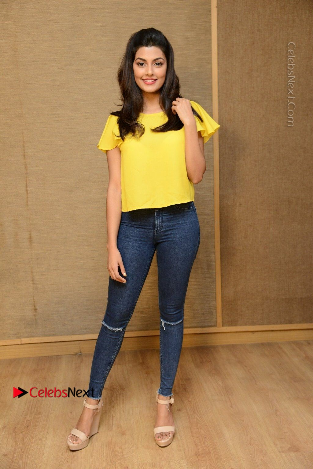 Actress Anisha Ambrose Latest Stills In Denim Jeans At Fashion Designer So Ladies Tailor Press Meet Com 0042 Anisha Ambrose Latest Stills In Denim Jeans At Fashion Designer S O Ladies Tailor