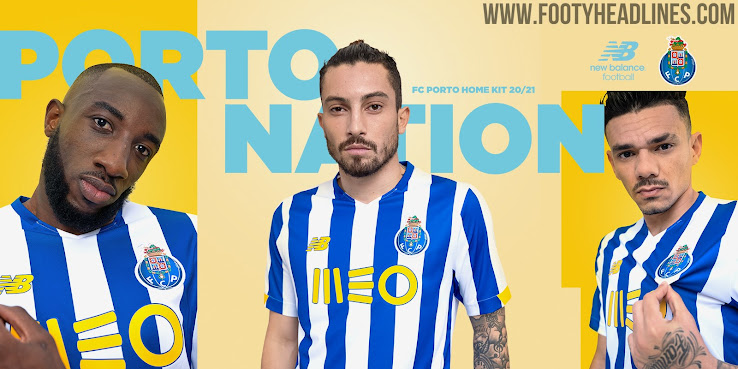 mapa ¿Cómo Frágil  FC Porto 20-21 Home Kit Released - Footy Headlines