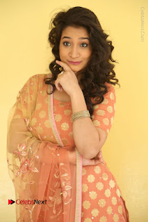 Telugu Actress Santoshi Sharma Latest Stills in Salwar Kameez at HBD Movie Teaser Launch  0017.JPG