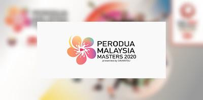 Jadual Live Streaming Badminton Malaysia Masters 2020 (Keputusan)