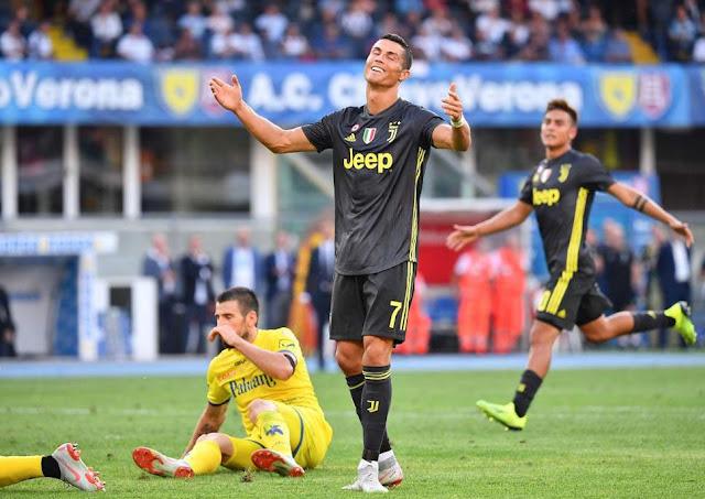 Ronaldo có trận ra mắt Serie A không ấn tượng