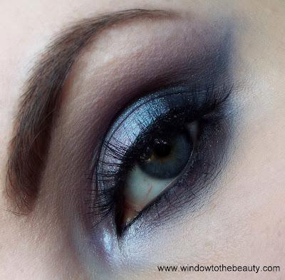 shiny gray look
