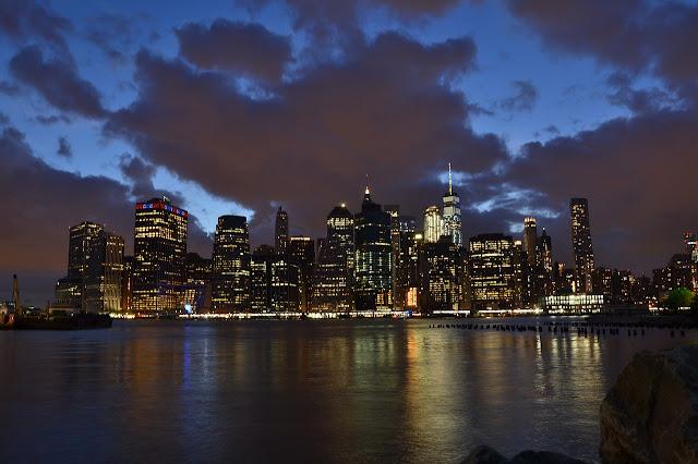 المدينة التي لا تنام نيويورك ليلا