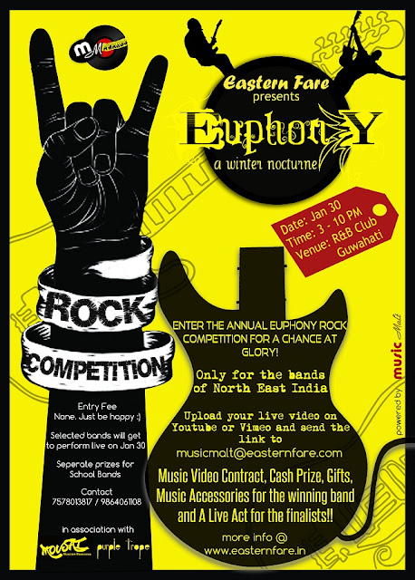 Euphony 2016 - Rock Competition ~ Eastern Fare Music Foundation | Music Classes in Bangalore