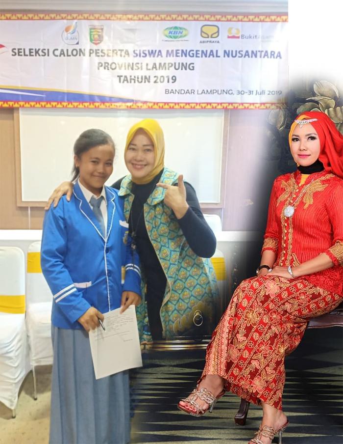 Siswi SMAN1 Banjit Wakili Lampung Pada Giat Siswa Mengenal Nusantara