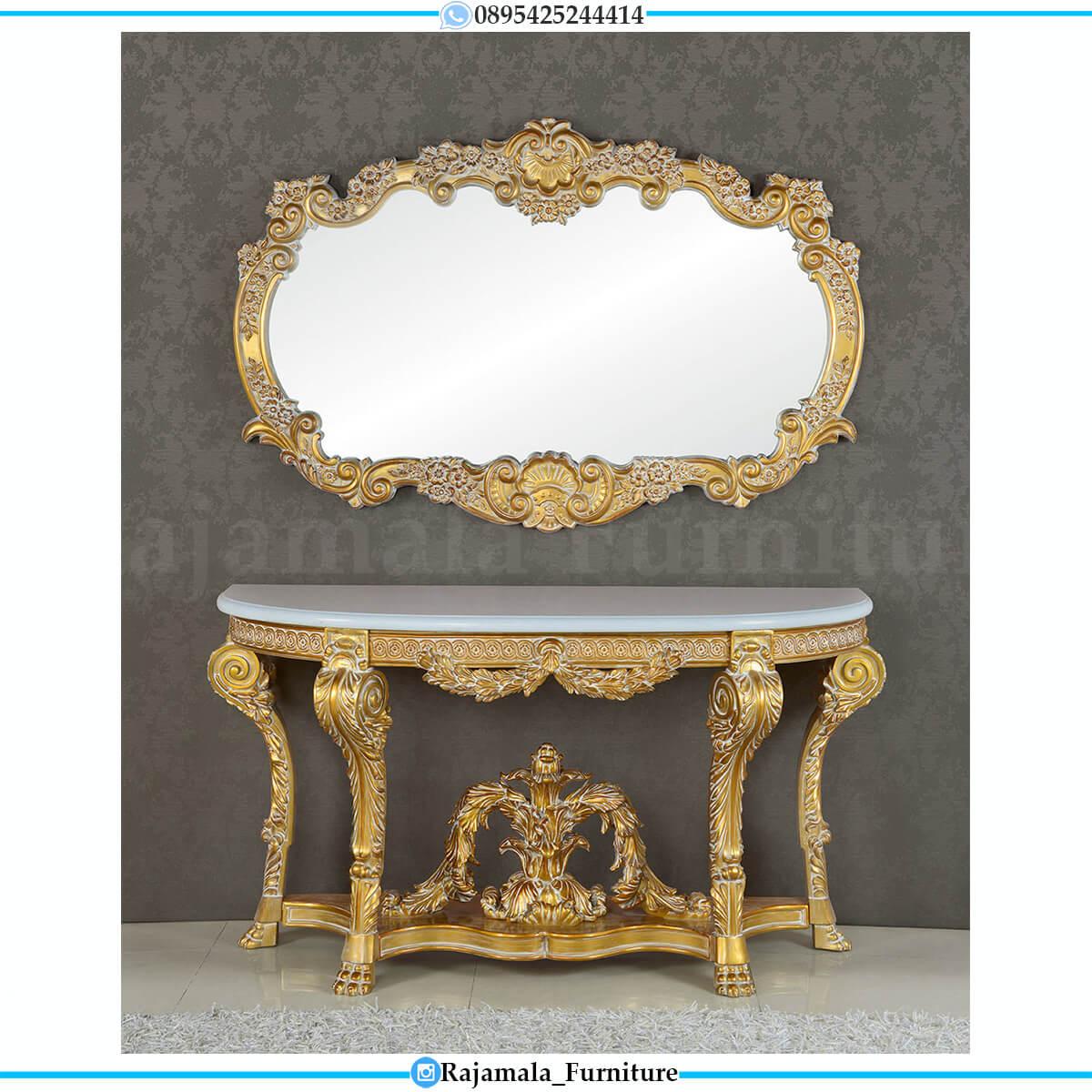 Jual Meja Konsol Mewah Jepara Luxurious Set Best Seller RM-0670