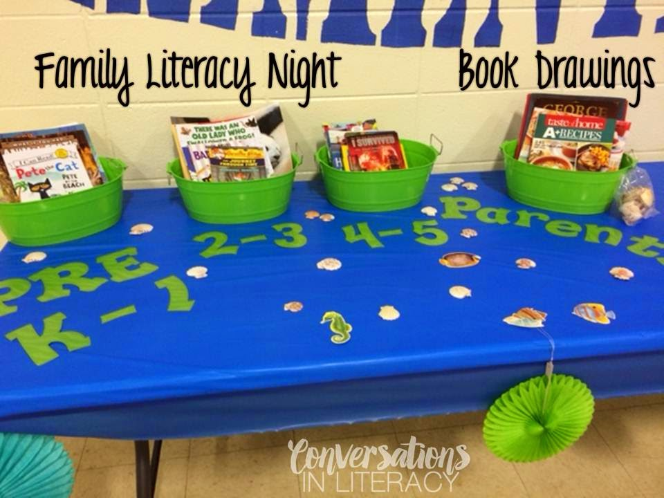Tips and Ideas for organizing a successful Family Literacy Night