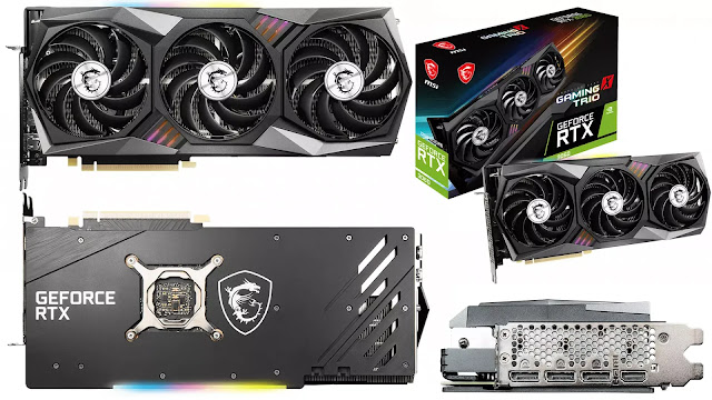 MSI-GeForce-RTX-3060-Gaming-X-Trio-12GB-Front-Back-Side-IO-Box-View