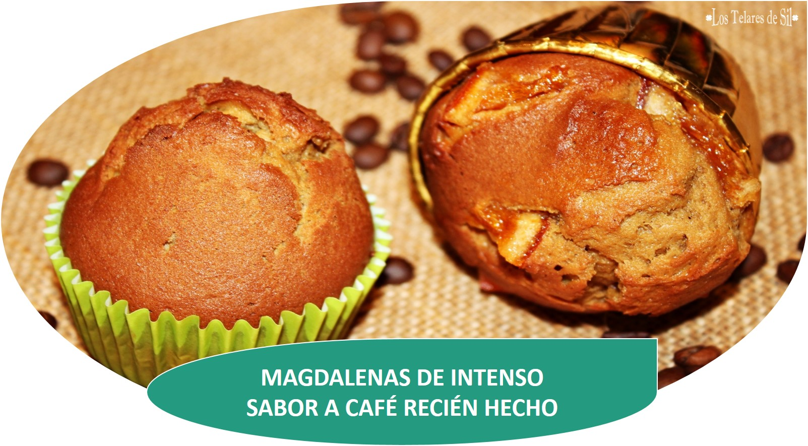 MAGDALENAS DE INTENSO SABOR A CAFÉ RECIÉN HECHO