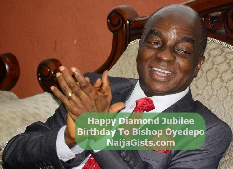 bishop oyedepo diamond jubilee birthday