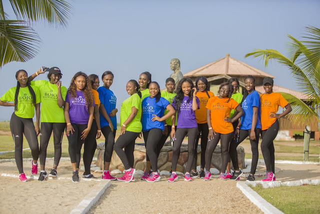 Photos: Miss Malaika Ghana 2017 Kick Starts Weekly Tasks Ahead Evictions
