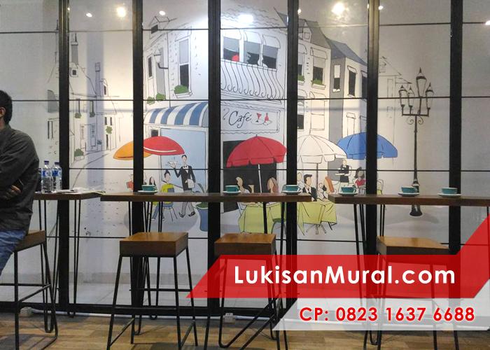 2016 mural cafe bandung mural cafe hitam putih mural for Mural untuk cafe