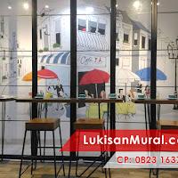 Tema lukisan kapur dinding untuk di cafe mural cafe for Mural untuk cafe