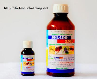 Thuốc diệt côn trùng DELADO 2.5EC