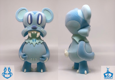 Winter Edition Lavabear Flocked Vinyl Figure by Nathan Hamill