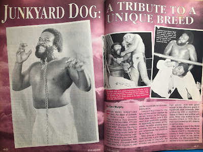 Inside Wrestling  - November 1998 -  Junkyard Dog Tribute 1