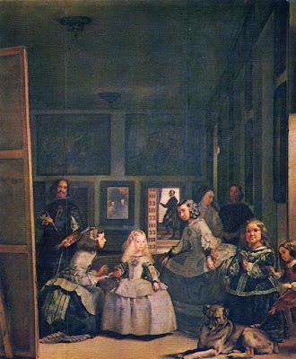Postal de Museo del Prado, Las Meninas, Velázquez. Editorial Dominguez