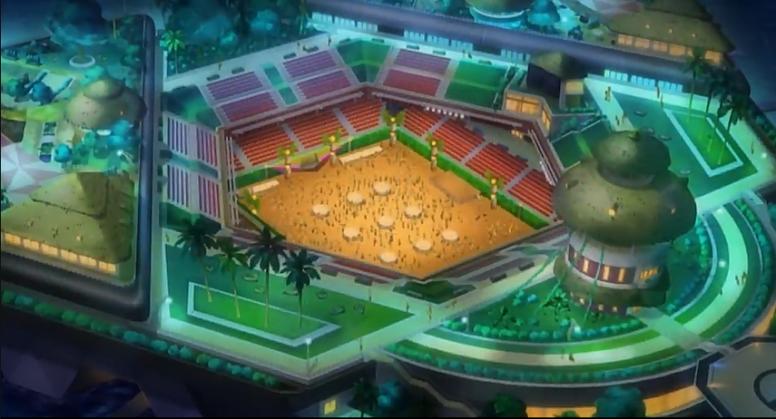 Liga Pokémon de Alola Anime