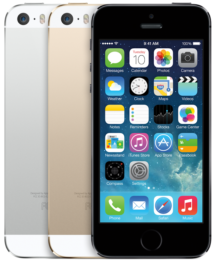 Apple iPhone 5s costs $99 on contract or $0 with qualifying trade-in through RadioShack
