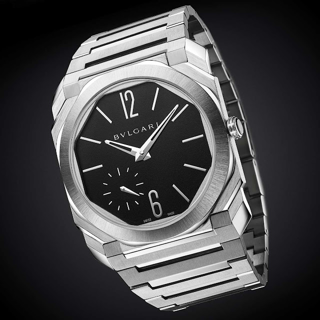 Bulgari Octo Finissimo Automatic in satin-polished steel ref. 103297