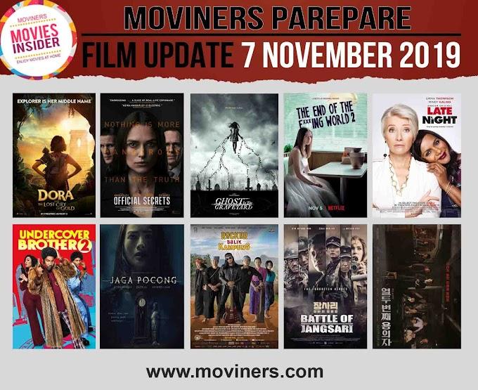 FILM UPDATE 7 NOVEMBER 2019
