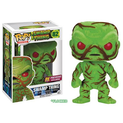 Previews Exclusive DC Comics Flocked Swamp Thing Pop! Heroes Vinyl Figure by Funko