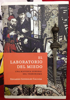 Portada del libro El laboratorio del miedo, de Eduardo González Calleja
