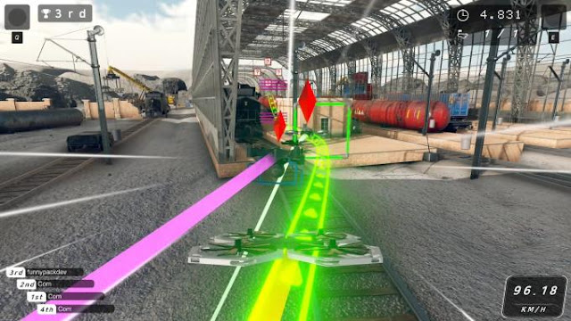 Drone Racer is a racing game developed by Funnypack for the PC platform.