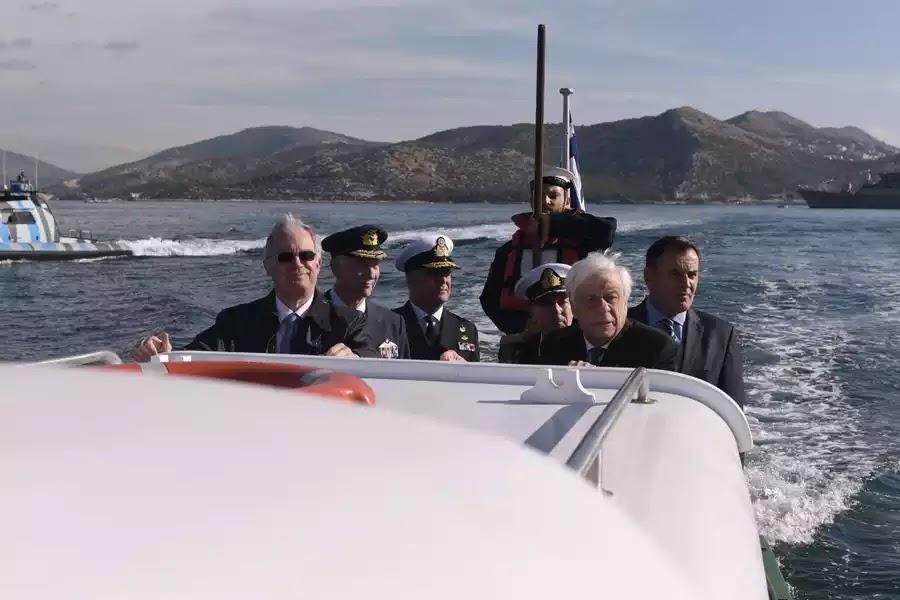 Παυλόπουλος: ΝΑΤΟ και ΕΕ να προστατεύσουν τα θαλάσσια σύνορα απέναντι στην Τουρκία